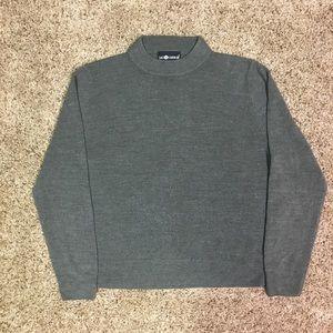 Sag Harbor Grey Sweater - Large